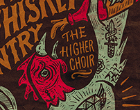 The Whiskey Gentry - Gigposter