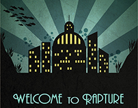 """Welcome to Rapture"" BioShock poster"