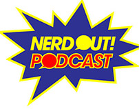 Nerd Out Podcast Logo and Branding