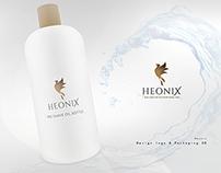 Corporate Identity // Heonix // skin care for men