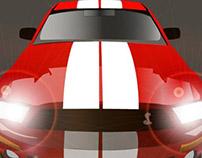 Cobra Mustang