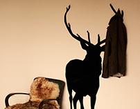 Coat hanger, SZUGA Deer No1