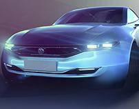 Volkswagen NamnRak