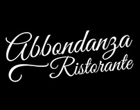 Abbondanza Ristorante Logo Development