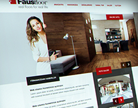Parquet Web Site Design