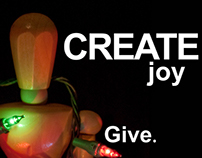 Create joy. Give.