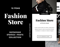 Fashion Store Instagram Bundle