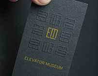 Elevator Museum Branding
