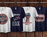 American T-Shirts Design Bundle​​​​​​​ 1
