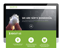 Seryx Biomedical | Website Design