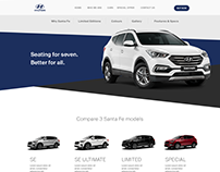 Hyundai Website Inspiration