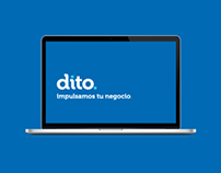 Dito by Interfactura Website Design