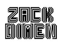 """""""Zack Dimen"""" Book"""