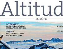 Altitudes Magazine Coverage