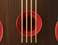 Anúncios - Restaurante japonês