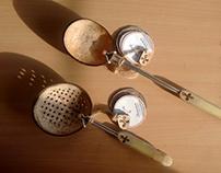 Utsavam - Coconut shell ladles