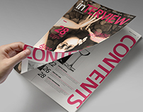Indesign Magazine Template vol.09