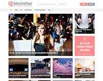 Lifeshifter website design