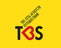 Rebranding for a network of travel agencies TBS