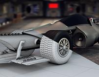 BATMAN F1 MOBIL