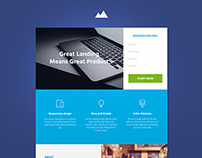 Revenue - StartUp Landing Page