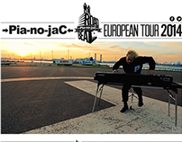 WEB DESIGN | →Pia-no-jaC← Tour Website