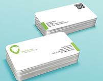 UI Developer business card v2