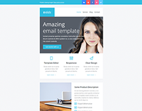 Evolute, Responsive Newsletter + Template Editor