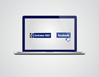 Emirates NBD Facebook Infographics