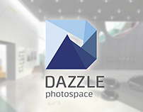 DAZZLE photospace (identity & interior)