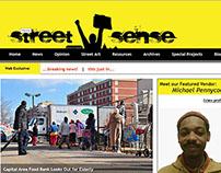 WEBSITE RE-DESIGN: Street Sense