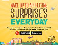 McDonald's Surprise Alarm