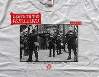 Death to Resellers t-shirt