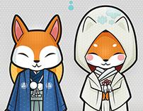 Fox Wedding / El casamiento de los zorros