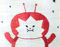 SSEBONG's embroidery.