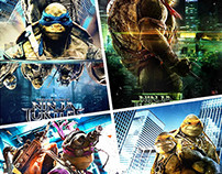 Ninja Turtle Covers 2015
