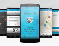 Personal Security Mobile App | UI/UX Design