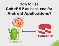 How to use CakePHP as back-end for Android Applications