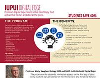 IUPUI Digital Edge Flyer
