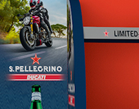 S.Pellegrino/Ducati In-store Display