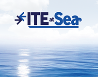 Logo Design for ITE at Sea
