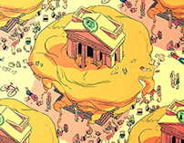 Illustrations for Freekampus