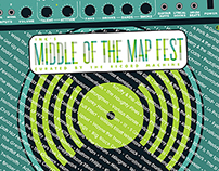 Middle of the Map Festival Program Covers