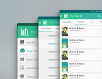 E-Library (Thư Viện Số) App for Android Phone