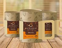 Embalagem + Branding Nutribolo