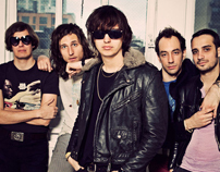 The Strokes Official Site, E-Commerce, & Mood Boards