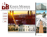 Kimes Morris Construction Web Site