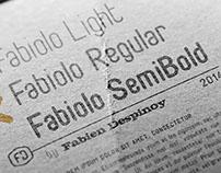 Fabiolo - free font