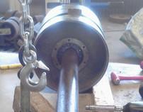 Casting Machine Shaft Repair