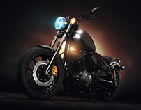 Yamaha Bolt: 3D visualization